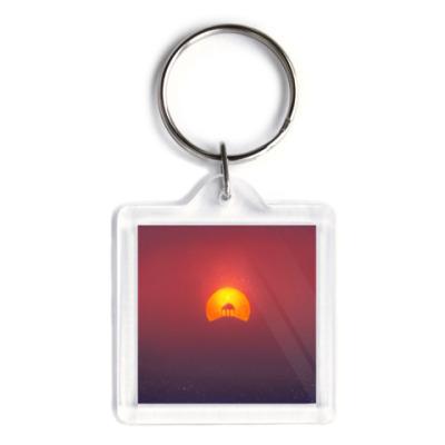 Брелок Домик на солнце