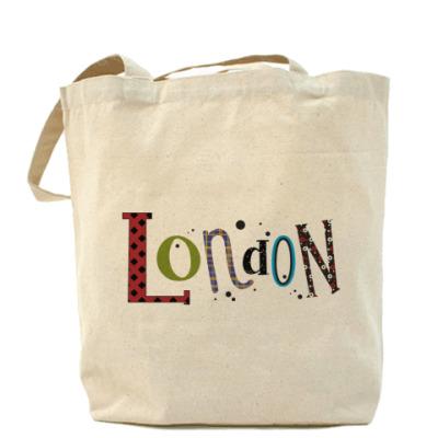 """Сумка Холщовая сумка """"Лондон"""""""