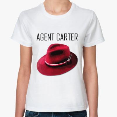 Классическая футболка Agent Carter