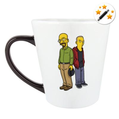 Кружка-хамелеон Breaking Bad Simpsons