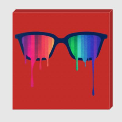 Холст Хипстер: очки