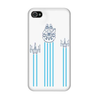 Чехол для iPhone 4/4s звёздные войн (Star wars)