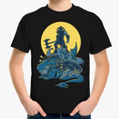 Детская футболка Skyrim