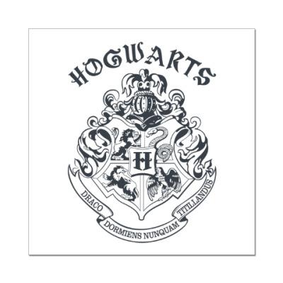 Наклейка (стикер) Хогвартс