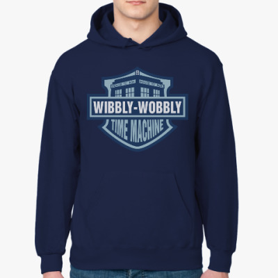 Толстовка худи Wibbly-Wobbly - Time Machine