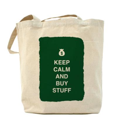 Сумка Keep calm and buy stuff
