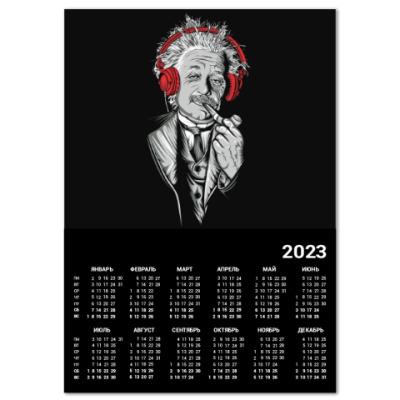Календарь Albert Einstein relaxed