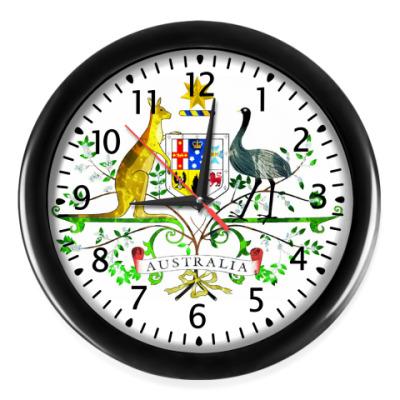 Настенные часы Герб Австралии