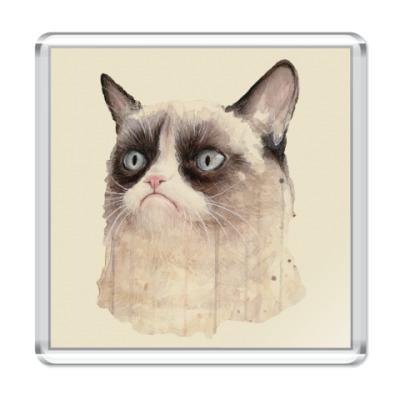 Магнит Grumpy Cat / Сердитый Кот