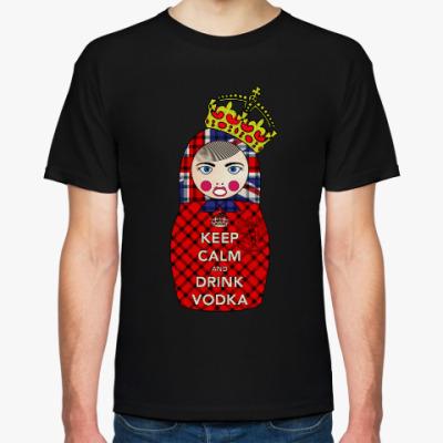Футболка Keep Calm and Drink Vodka