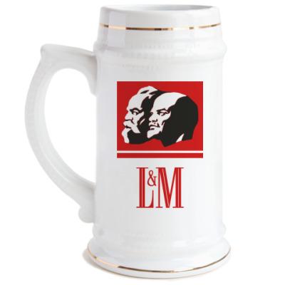Пивная кружка L&M [NEW]