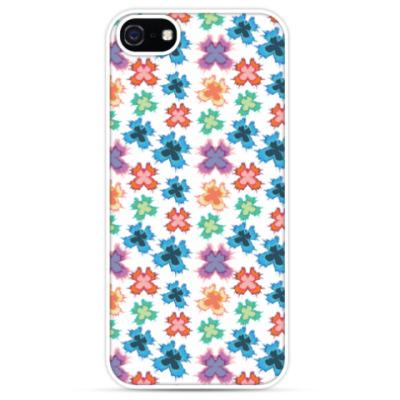 Чехол для iPhone цветные бабочки - якрое летнее настроение!