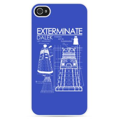 Чехол для iPhone Dalek plan