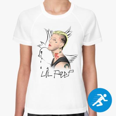 Женская спортивная футболка Lil Peep
