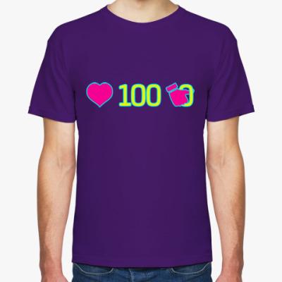 Футболка лайков 100