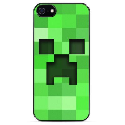 Чехол для iPhone Minecraft Creeper
