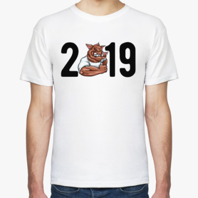 Футболка Кабан 2019