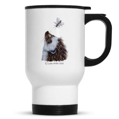 Кружка-термос I love hedgehogs