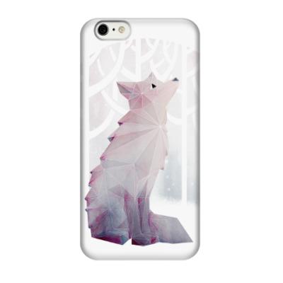 Чехол для iPhone 6/6s Зимний Лис в снегу Winter fox