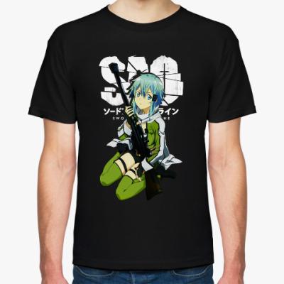 Футболка Синон. Sword Art Online