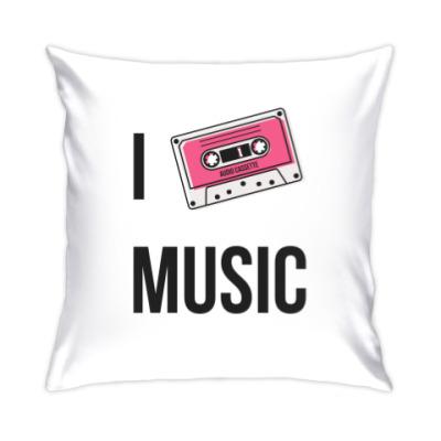 Подушка I Love Music