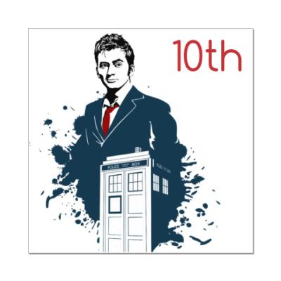 Наклейка (стикер) 10-ый