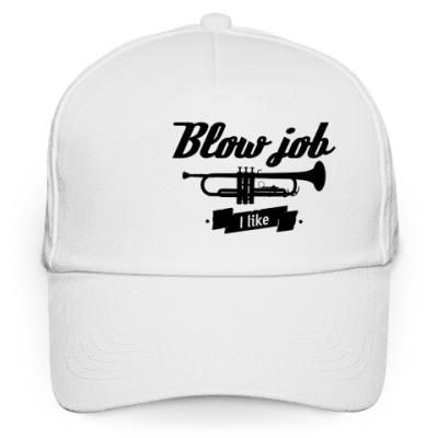 "Кепка бейсболка ""Blow job I like"""