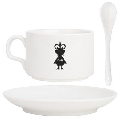 Кофейный набор Королева Елизавета II