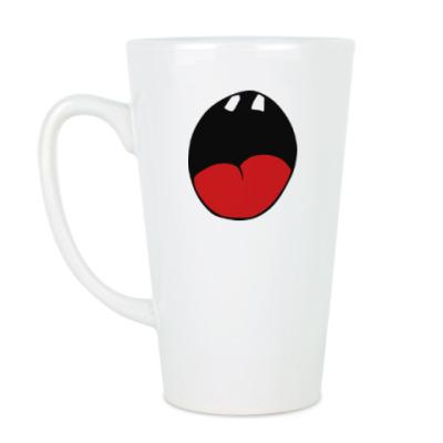 Чашка Латте Улыбка-восхищение