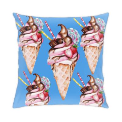 Подушка мороженое