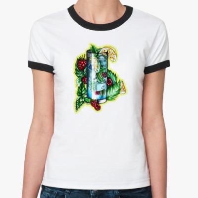 Женская футболка Ringer-T Частичка лета