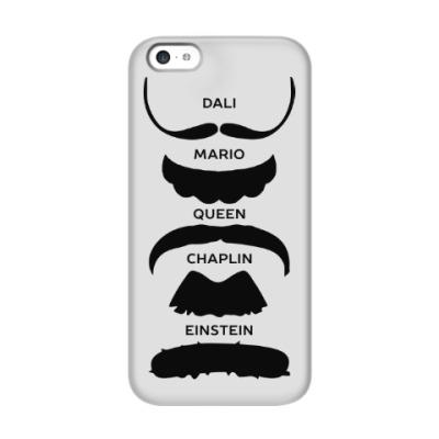 Чехол для iPhone 5c Усы Знаменитостей