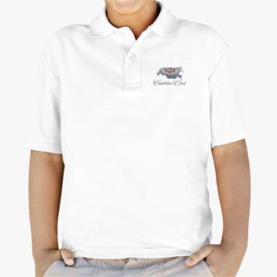 Детская рубашка поло Детская рубашка поло Fruit of the Loom, белая