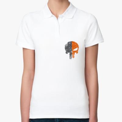 Женская рубашка поло Punisher