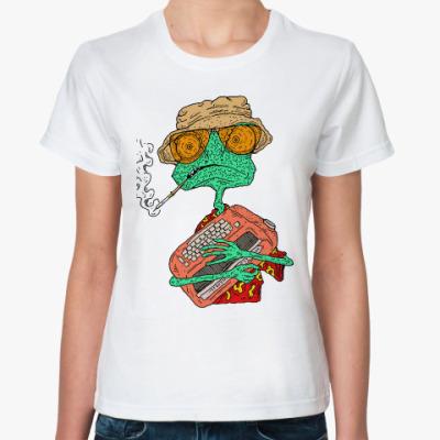 Классическая футболка Ранго - Рауль Дюк