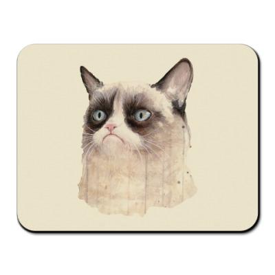 Коврик для мыши Grumpy Cat / Сердитый Кот