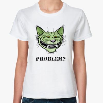 Классическая футболка Кото-тролль Кото-тролль, troll