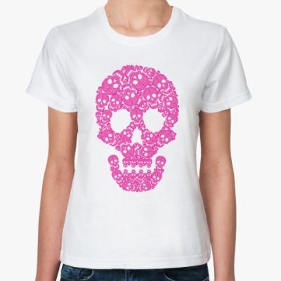 Классическая футболка  'Череп'