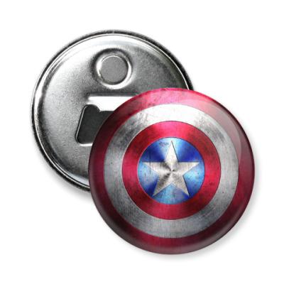Магнит-открывашка Капитан Америка