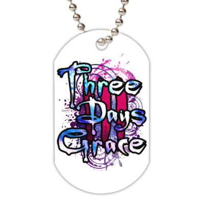 Жетон dog-tag Three Days Grace