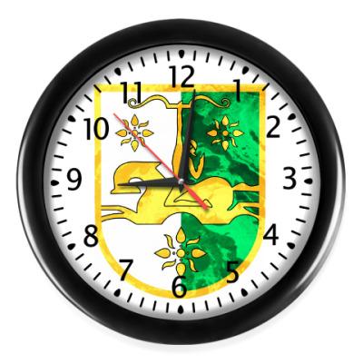 Настенные часы Герб Абхазии