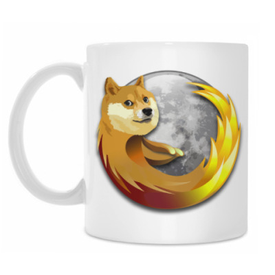 Кружка Doge Firefox
