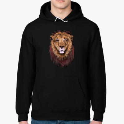 Толстовка худи Лев