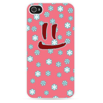 Чехол для iPhone Снежная улыбка