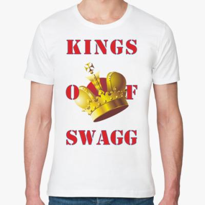 Футболка из органик-хлопка KINGS OF SWAGG