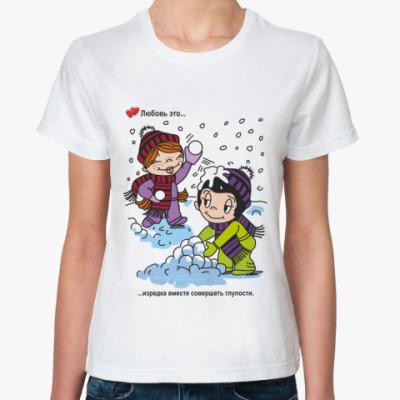 Классическая футболка LS.04.073