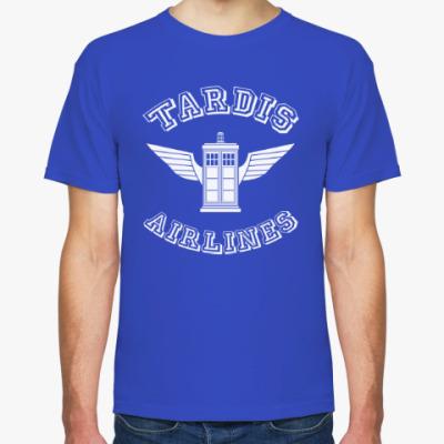 Футболка Tardis Airlines