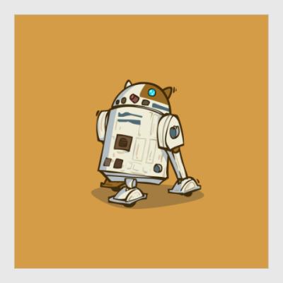 Постер R2C2 — Пятничный Котик №34