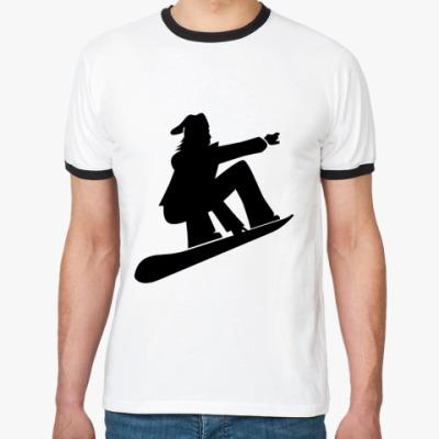 Футболка Ringer-T Сноуборд