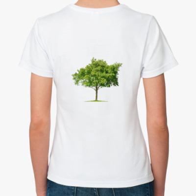 Классическая футболка  ''Trees''